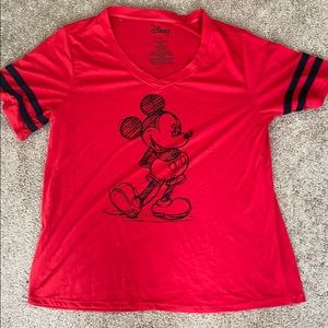 A Mickey Mouse shirt